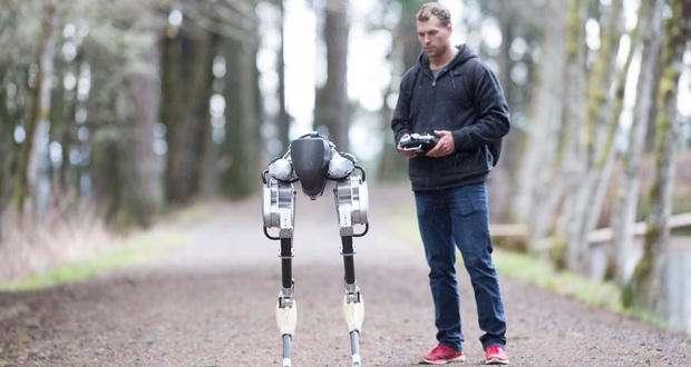 تولید ربات Cassie با الهام از شتر مرغ
