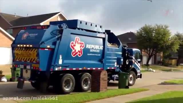 ترانه کامیون زباله