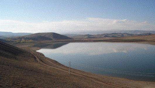 تنها دریاچه طبیعی استان زنجان+گالری تصاویر