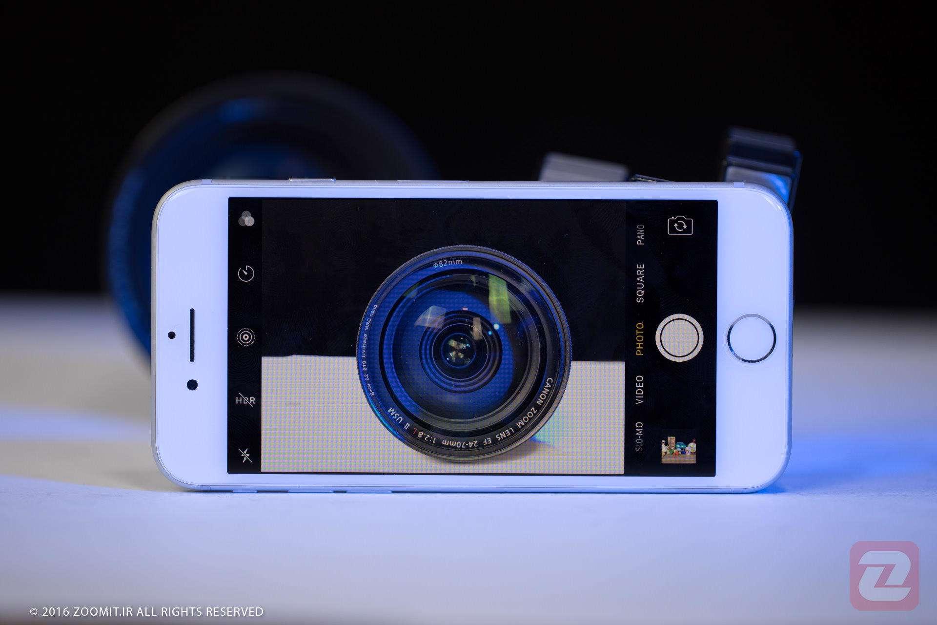 آیفون 7 با تمرکز بر عملکرد دوربین در نور کم