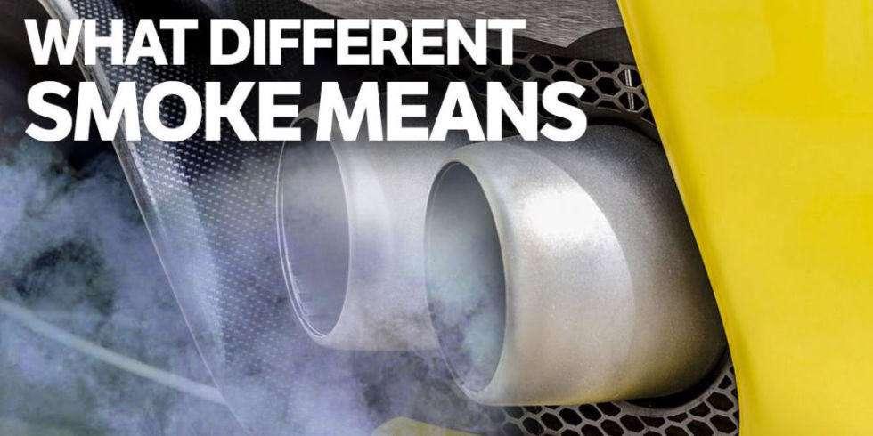 تشخیص مشکل خودرو از دود اگزوز