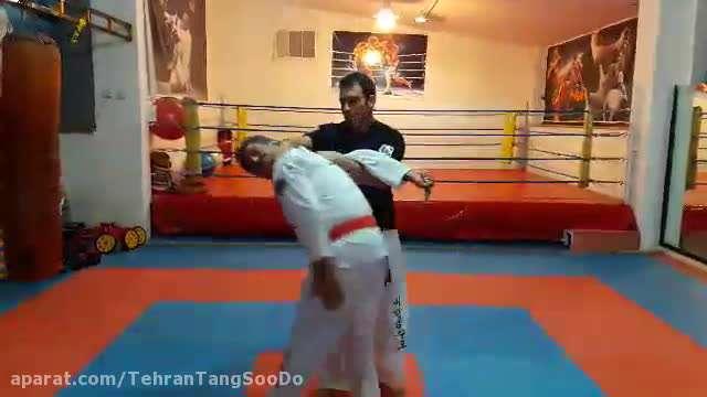 دفاع شخصی چاقو / تکنیک ۹