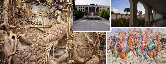 سنجش عیار هنر نصف جهان در موزه رکیب خانه