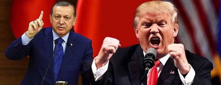 بحران روابط اردوغان و ترامپ