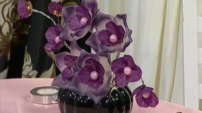 گل ختمی کریستالی