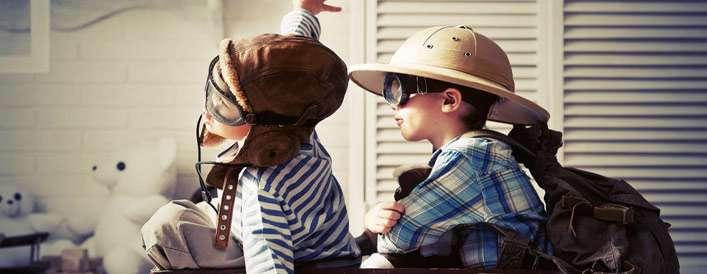 گشت و گذاری رویایی با کودکان