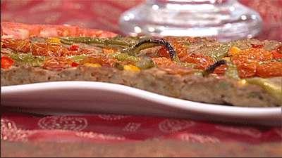 کباب تابه ای با سبزیجات