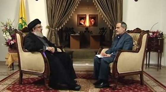 مصاحبه با دبیرکل حزب الله لبنان