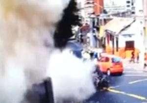 انفجار خونین در بوگوتا