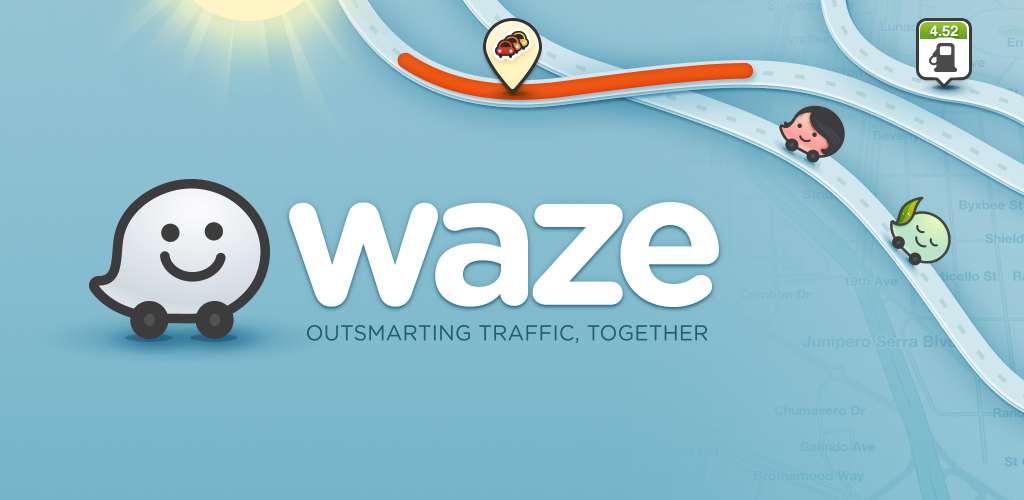 دانلود برنامه نقشه Waze Social GPS Maps Traffic 4.39.0.4  برای اندروید