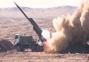 آزمایش انواع موشکهای پیشرفته و نقطهزن توسط نیروی زمینی سپاه