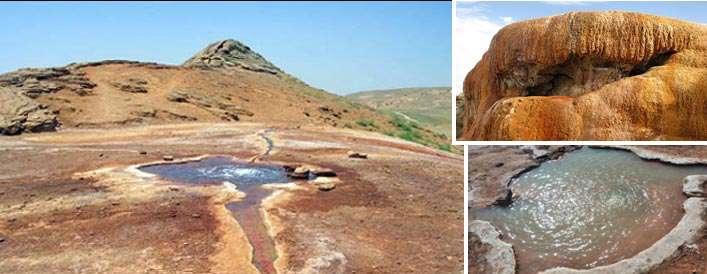 چشمه معدنی قزل داغ آذرشهر