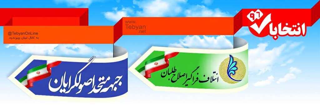 آرایش احتمالی انتخابات 96 / اینفوگرافی