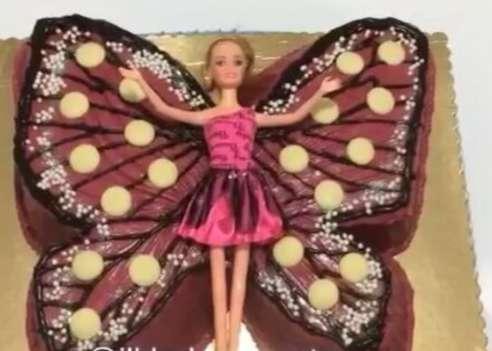 به آسانی «کیک تولد» پروانه ای درست کنید