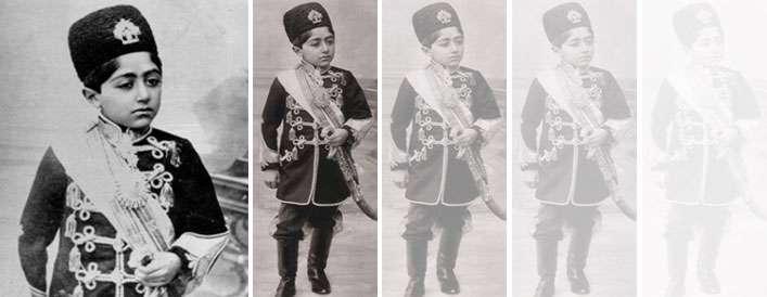 طفلی که پادشاه شد