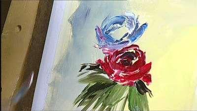 نقاشی گلها