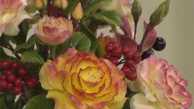 گل رز باغچه ای