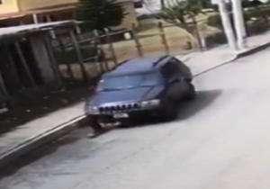 زیر گرفتن عمدی یک زن توسط راننده