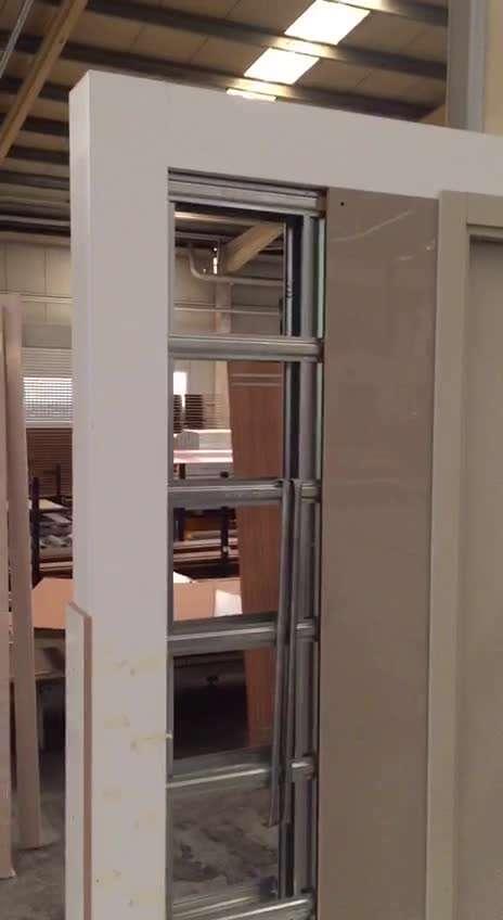 درب ضد سرقت طراحی داخل دیوار -اتاک درب نماینده اتاک ترکیه