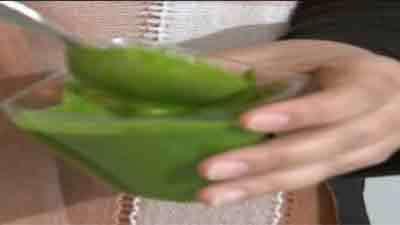 رنگ طبیعی سبز - به زبان آذری
