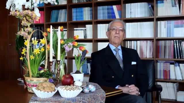 پیام نوروزی 1396 پروفسور مجید سمیعی