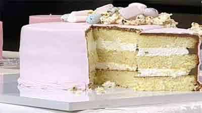 کیک ذرت