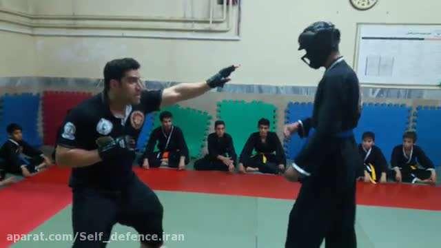 دفاع شخصی در مقابل چاقوکش حرفه ای