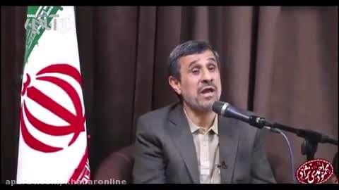 احمدی نژاد و انتخابات 96