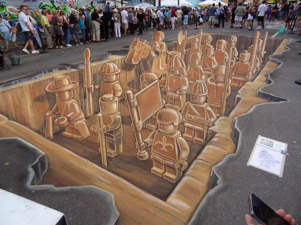 نقاشی های سه بعدی حیرت انگیز