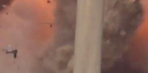 انهدام انتحاری داعش با موشک ضد زره کورنت