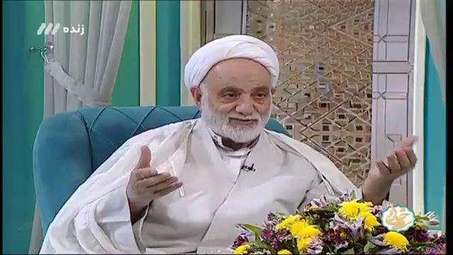 شعرخوانی استاد قرائتی در مدح حضرت علی علیه السلام