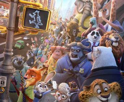 انیمیشن زوتوپیا (Zootopia) برنده جایزه اسکار 2017، قسمت سوم