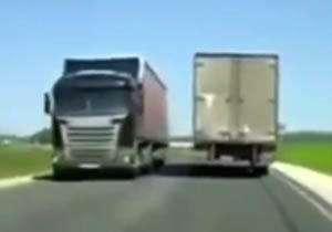 حادثه ساز شدن کامیون پردردسر