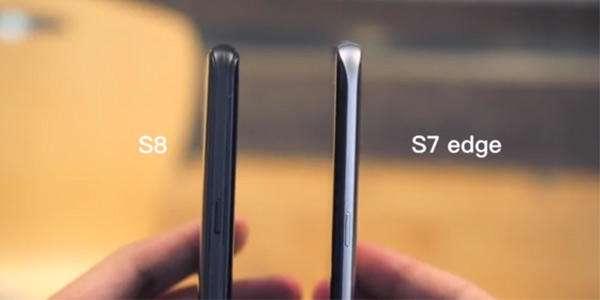مقایسه ابعاد گلکسی S8 و S8 plus با سایر گوشیها