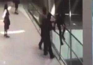 خودکشی نافرجام در فرودگاه