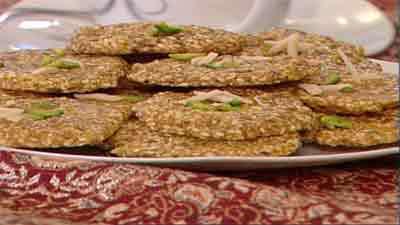 سوهان عسلی - به زبان آذری
