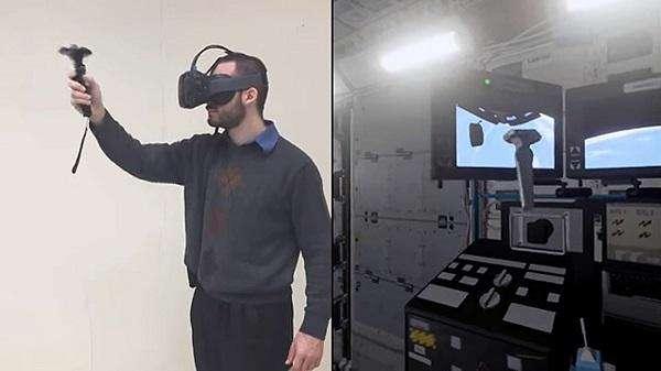 ناسا و بهره گیری از واقعیت مجازی جهت تمرین فضانوردان