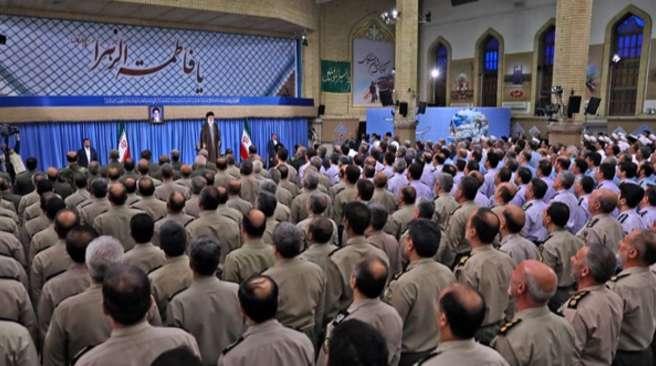 بیانات رهبر انقلاب در دیدار فرماندهان ارتش