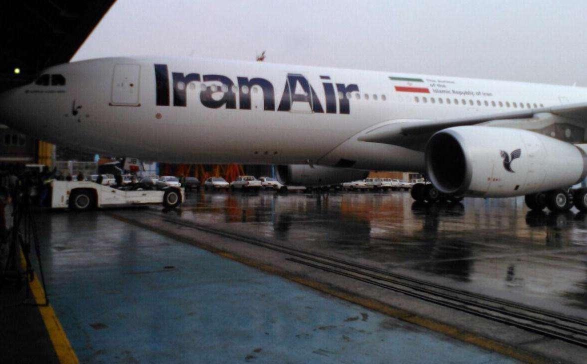 ورود سومین هواپیمای پسابرجامی در فرودگاه مهرآباد