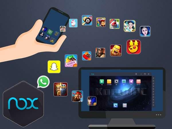 دانلود برنامه شبیه ساز اندروید در سیستم رایانه شما Nox App Player 6.0.3.0
