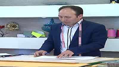دوخت پیراهن مردانه - به زبان آذری