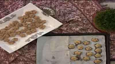 شیرینی نخودچی - به زبان آذری