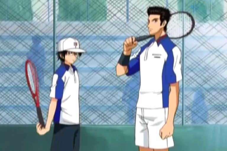 کارتون قهرمانان تنیس / قسمت سیزده