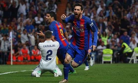 خلاصه بازی: رئال مادرید 2-3 بارسلونا (درخشش مسی)