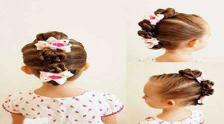 مدل موهای جدید و زیبا مخصوص دختر بچه ها