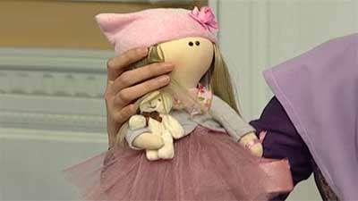 عروسک سازی- خانم خوش منش