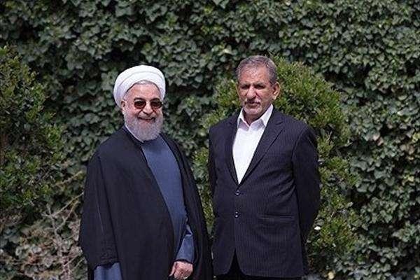 روحانی نقش عارف رابازی میکند وبنفع جهانگیری کنار میکشد؟