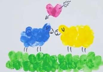 ایده نقاشی انگشتی برای سرگرمی کودکتان
