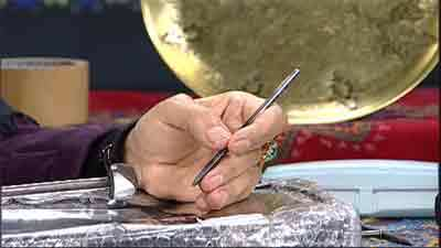 برجسته کاری 2 - قلمکاری