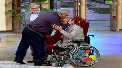 گفتگوی مهران مدیری با جانبازان ارتش